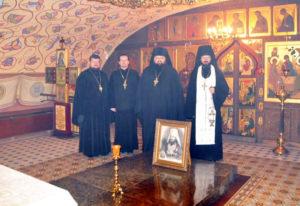 На могиле митрополита Иосифа (Семашко) затеплена лампада от православных белорусов