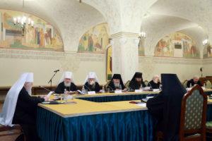 Заседание Церковно-общественного совета при Патриархе Московском и всея Руси